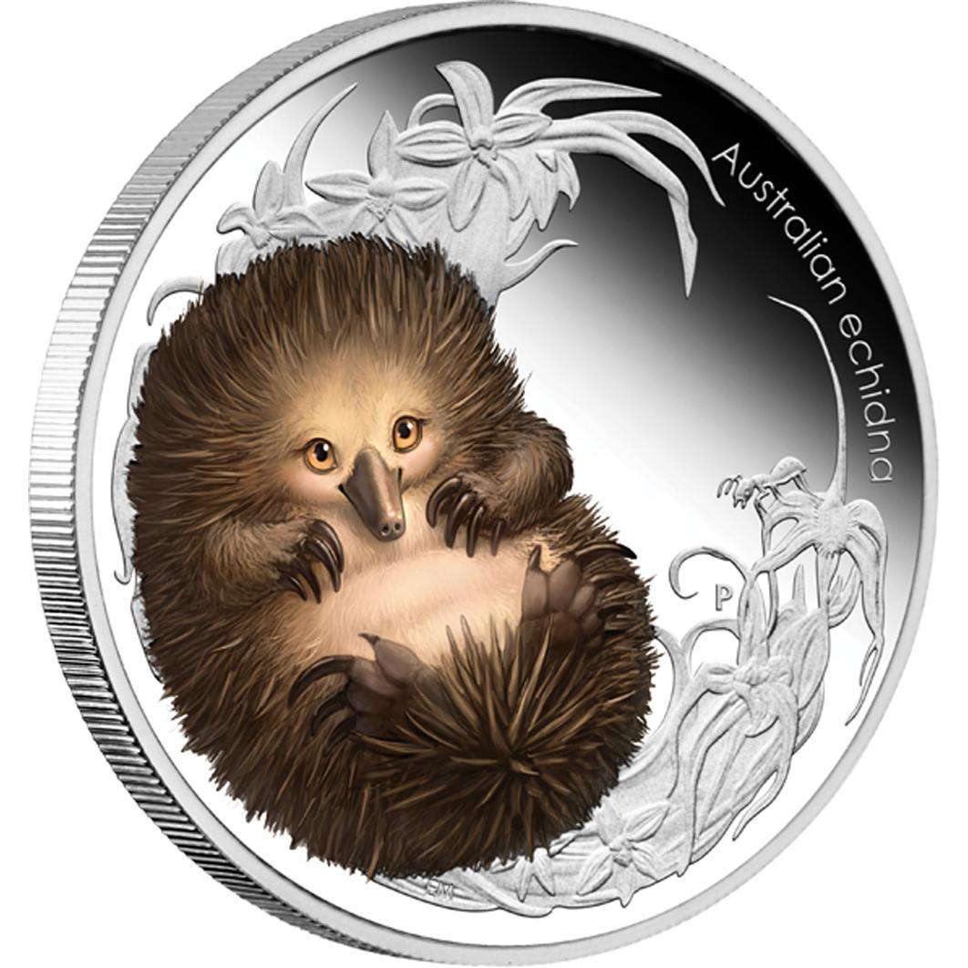 Australian Bush Babies II: Echidna, Australia, 2013, 0.5oz ...