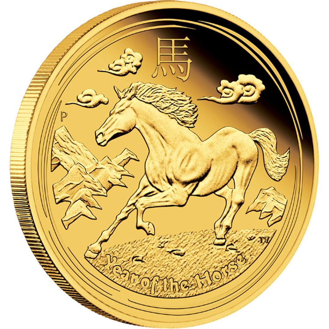 Year Of The Horse Gold Proof Australia 2014 1oz Silvercoinstory