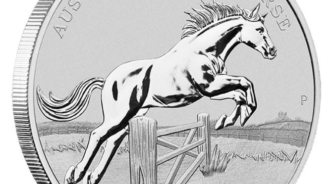2015 Stock Horse Silver Coin