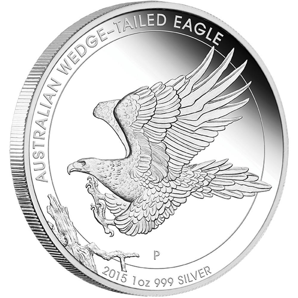 australian wedge tail eagle coin